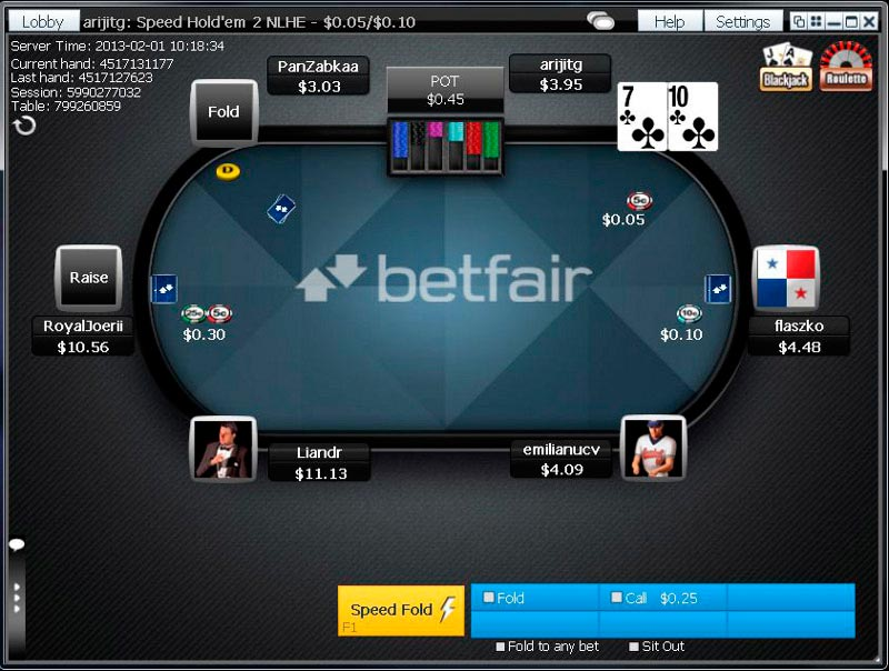 Betfair Poker