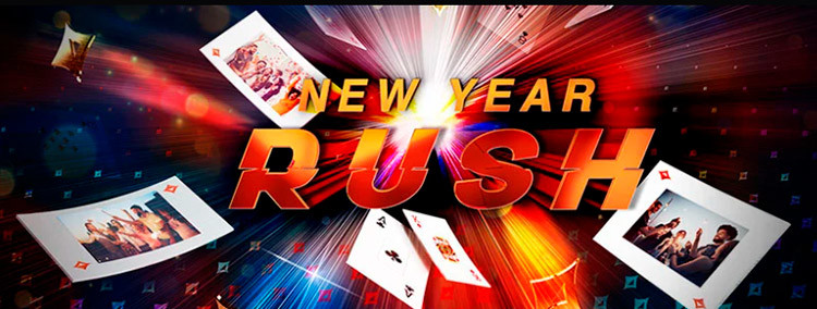Banner de New Year Rush